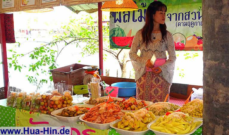Frisches Obst Floating Market Hua Hin